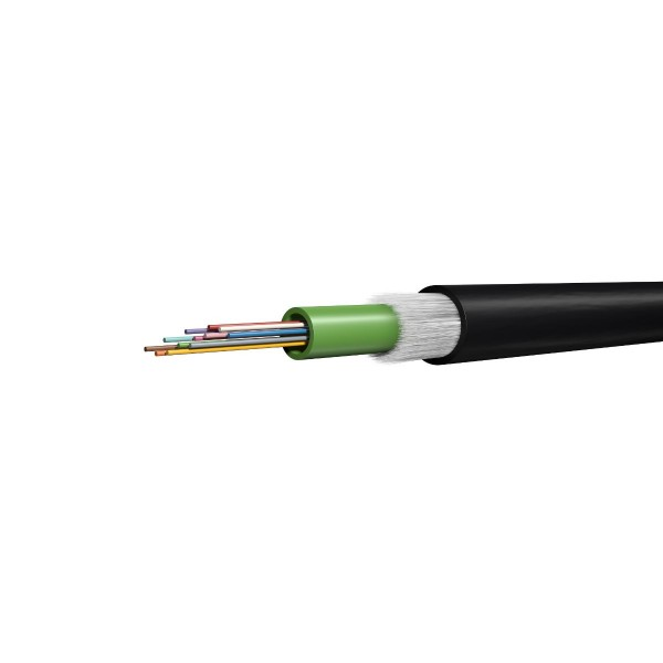 FO outdoor cable A-DQ(ZN)B2Y 24G50/125 OM3 BI 2500N GHMT PVP