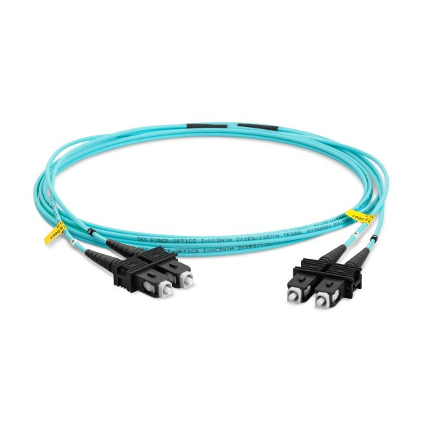 LWL-Patchkabel Duplex Multimode OM3, SC-PC/SC-PC, I-V(ZN)HH 2x 2,8 mm