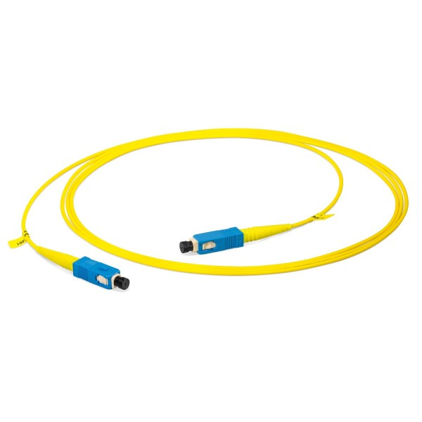 Fiber optic patch cord simplex singlemode OS2, SC-PC/SC-PC, I-V(ZN)H 1x 2,8 mm
