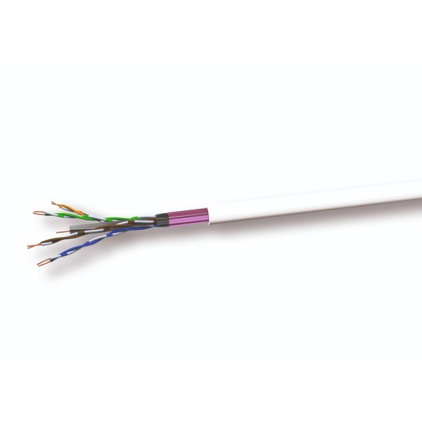 F/UTP Cat.6A Datenkabel 4x2xAWG23 500MHz FRNC CPR Dca